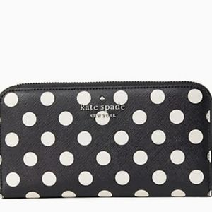 Kate Spade  Staci Picture Dot Large Continental Wallet